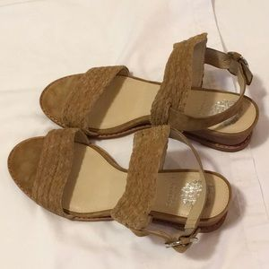 Brand New Vince Camuto wedge sandals, Sz 40